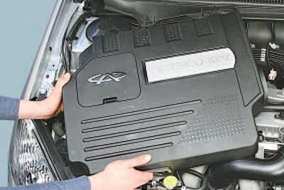 Ремень генератора Chery Tiggo T11 с двигателем 2.4 Л